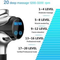 20 Speed Massage Gun with Multipe Attatchments (EM03)