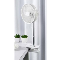 NATURALWIND | Adjustable Desk Fan with Clip and Rechargeable Battery (F3)