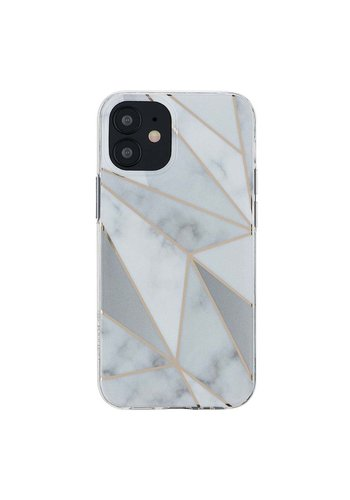 KASEAULT | Hard TPU  Electroplated Purity White Marble Design Case for iPhone 11