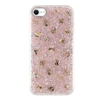 KASEAULT   Shell Epoxy Flake Glitter Design Case for iPhone SE (2020) / 8 / 7