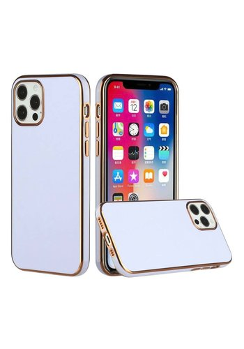 Fashionable Electroplated Solid Color Case for iPhone 12 Pro Max