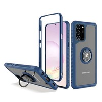 Heavy Duty Shockproof Bumper Case with Mag-Ring for Galaxy Note 20  Ultra