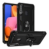 Slim Hybrid PC TPU Magnetic Ring Case for Galaxy A02s