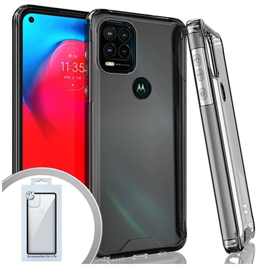 Clear Hybrid ShockProof Case for Motorola Moto G Stylus (2021) 5G*