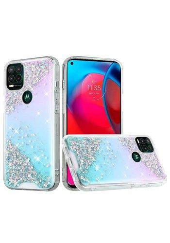 Vogue Epoxy Glitter Calm Shimmer Design Case for Motorola Moto G Stylus (2021) 5G*