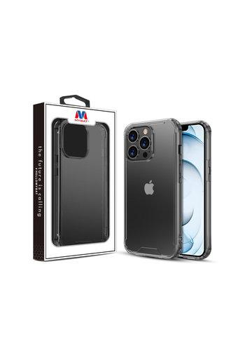 MYBAT Transparent Acrylic Gummy Case for iPhone 13 Pro Max