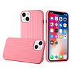 Novelty Silicone Thick Woven Design Case Cover for iPhone 13
