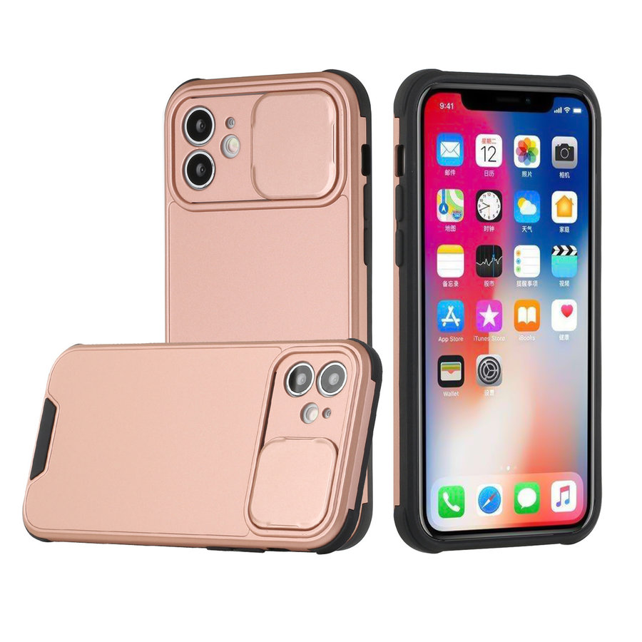 Heavy Duty Camera Protection Shockproof Hybrid Case for iPhone 13