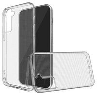 Minimalistic Transparent Clear Thick TPU Case Cover for  Galaxy S21