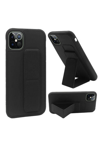 Premium PC TPU Foldable Magnetic Kickstand Case for iPhone 13 Pro Max