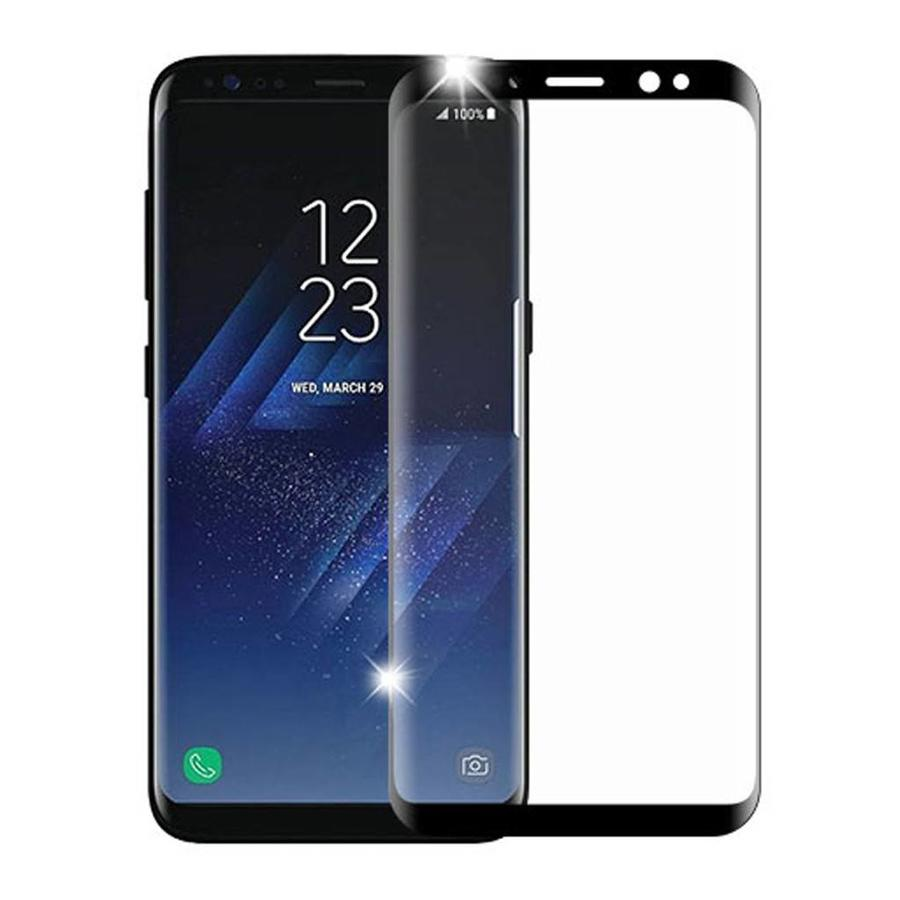 4D Curved Full Cover Tempered Glass for Galaxy S8