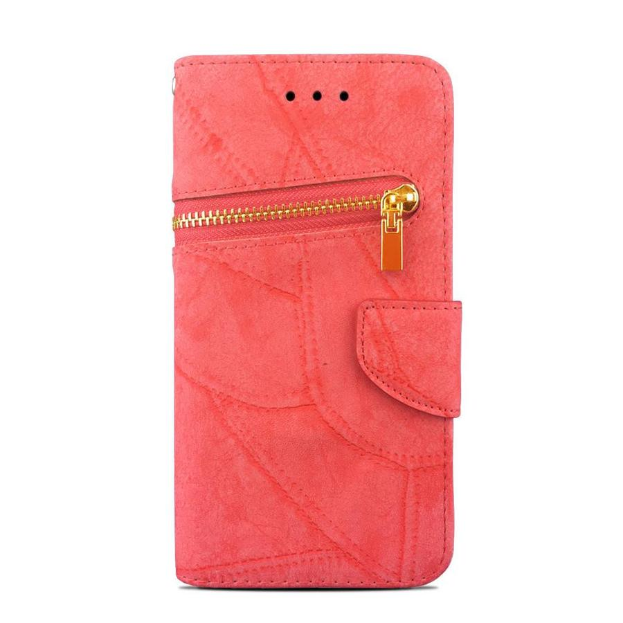 Zipper Wallet Protective Case For iPhone 7/8