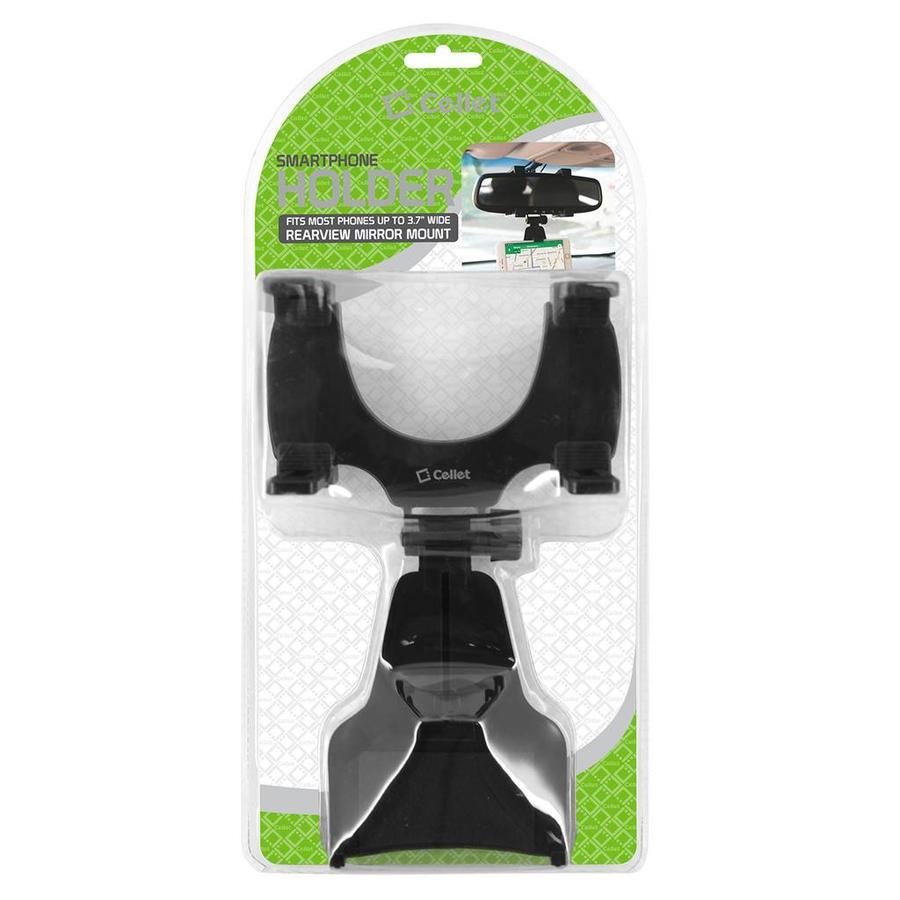 Cellet Rearview Mirror Car Phone Holder / Mount (PHMIR)