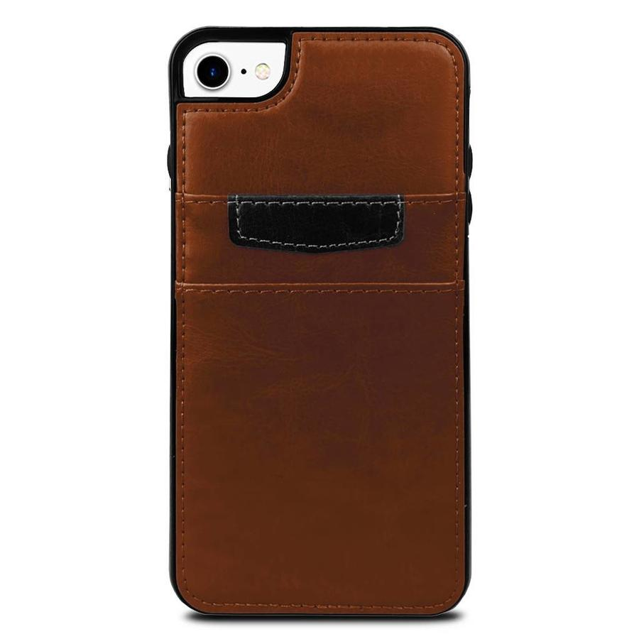 Protective Case Vertical Wallet With 2 Card Slots For iPhone SE (2020) / 8 / 7