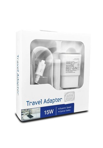 Home Charger Travel Adapter 15W with Micro Single USB-3.0 Cable
