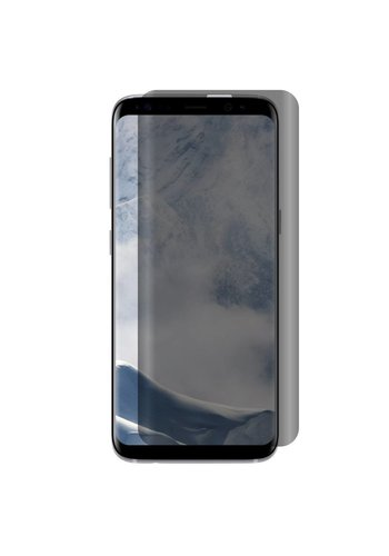 Full Cover Curved Privacy Matte Tempered Glass for Galaxy S8
