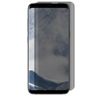 Full Cover Curved Privacy Matte Tempered Glass for Galaxy S8 Plus