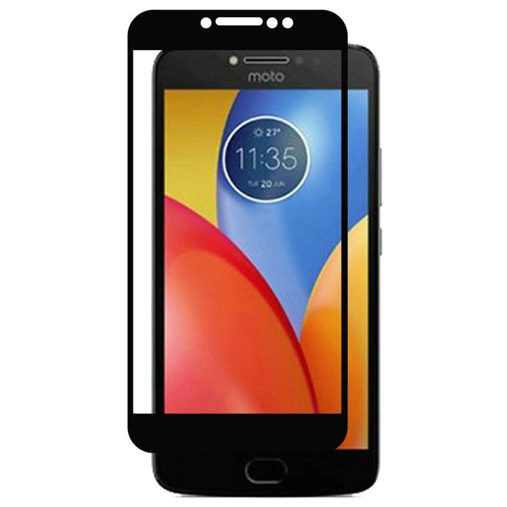 new product 9f5e8 d9973 4D Full Cover Tempered Glass for Motorola Moto E4 Plus