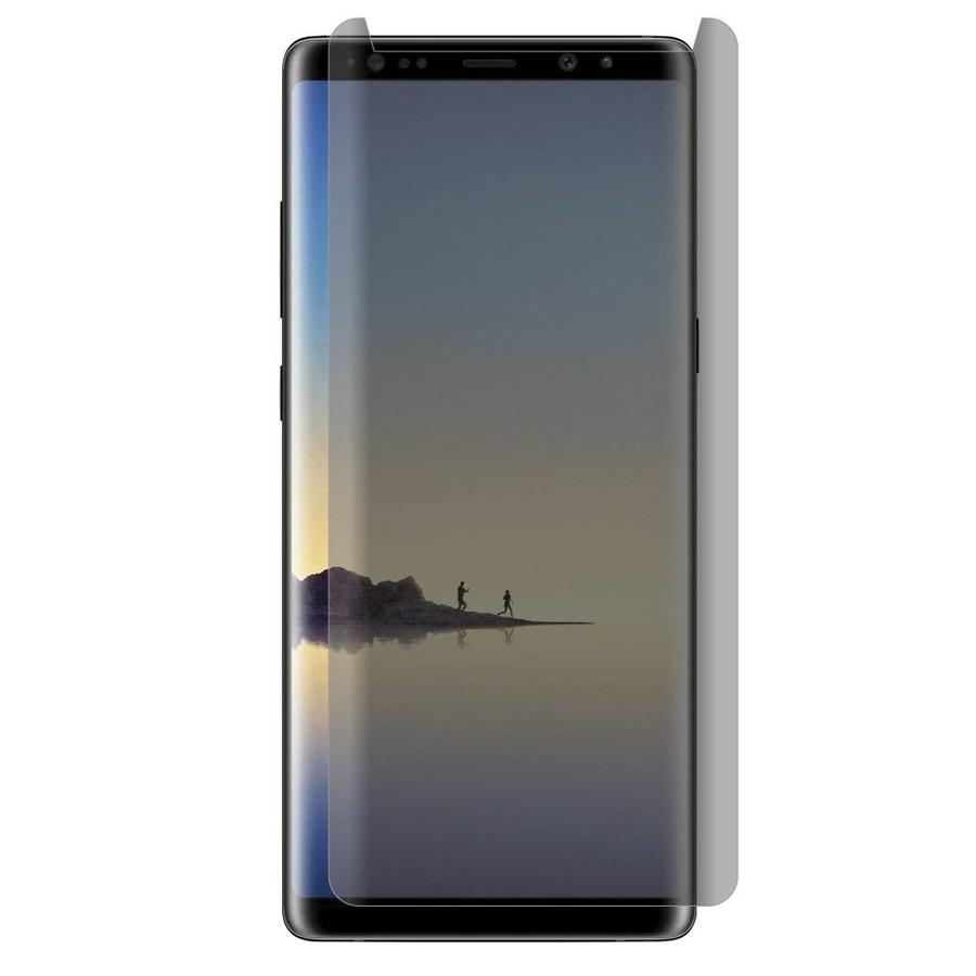 Full Cover Curved Privacy Matte Tempered Glass for Galaxy Note 8