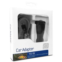 Car Charger Travel Adapter 15W with Micro Single USB-3.0 Cable