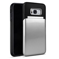 Roar Lovely Mirror Bumper Case with Card Storage for Galaxy Note 8