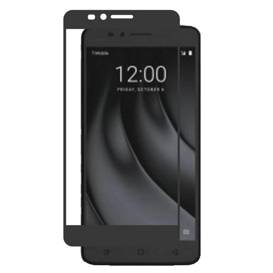 4D Full Cover Tempered Glass for Coolpad Revvl Plus - Single Pack