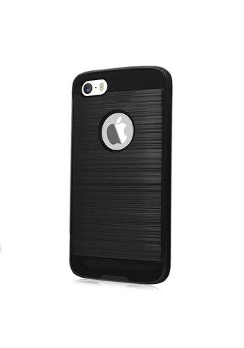 PC TPU Metallic Brushed Design Case for iPhone 6/6S Plus