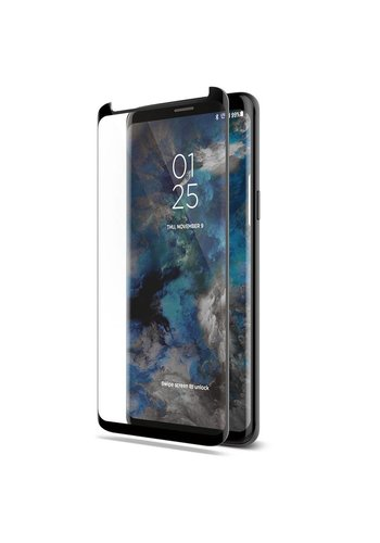 4D Curved Full Cover Tempered Glass for Galaxy S9 Plus