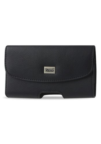 Reiko (inside: 6.05 x 3.18 x 0.67 in) Horizontal Leather Magnetic Pouch For Universal Devices (HP102B-613207)