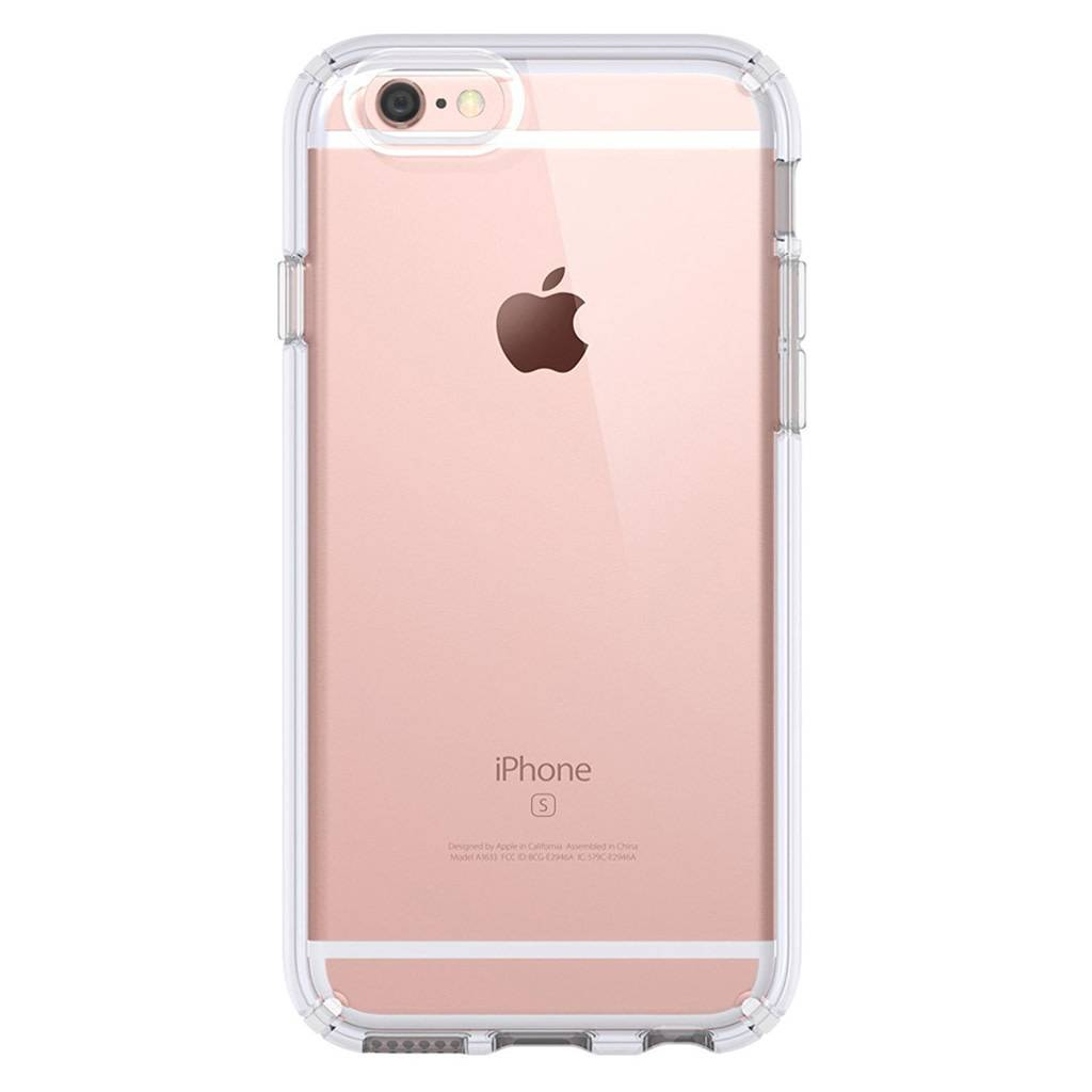 e319e7d49a06b1 JLW WUW Crystal Clear PC+TPU Gel Case for iPhone 6/6S - Diego ...