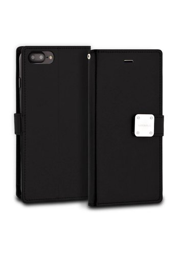 ModeBlu PU Leather Wallet MB Mode Diary Case for iPhone 7/8 Plus