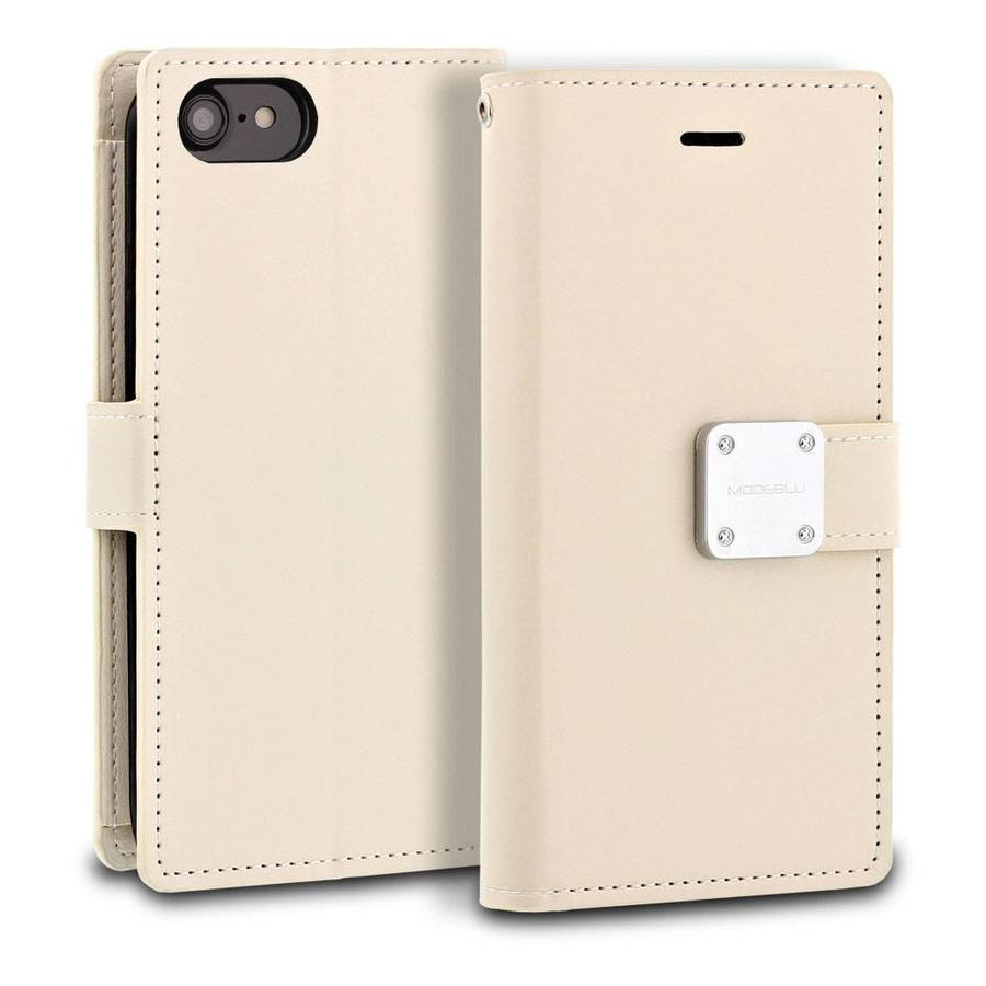 ModeBlu PU Leather Wallet MB Mode Diary Case for iPhone SE (2020) / 8 / 7