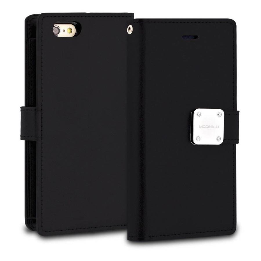 ModeBlu PU Leather Wallet MB Mode Diary Case for iPhone 6/6S Plus