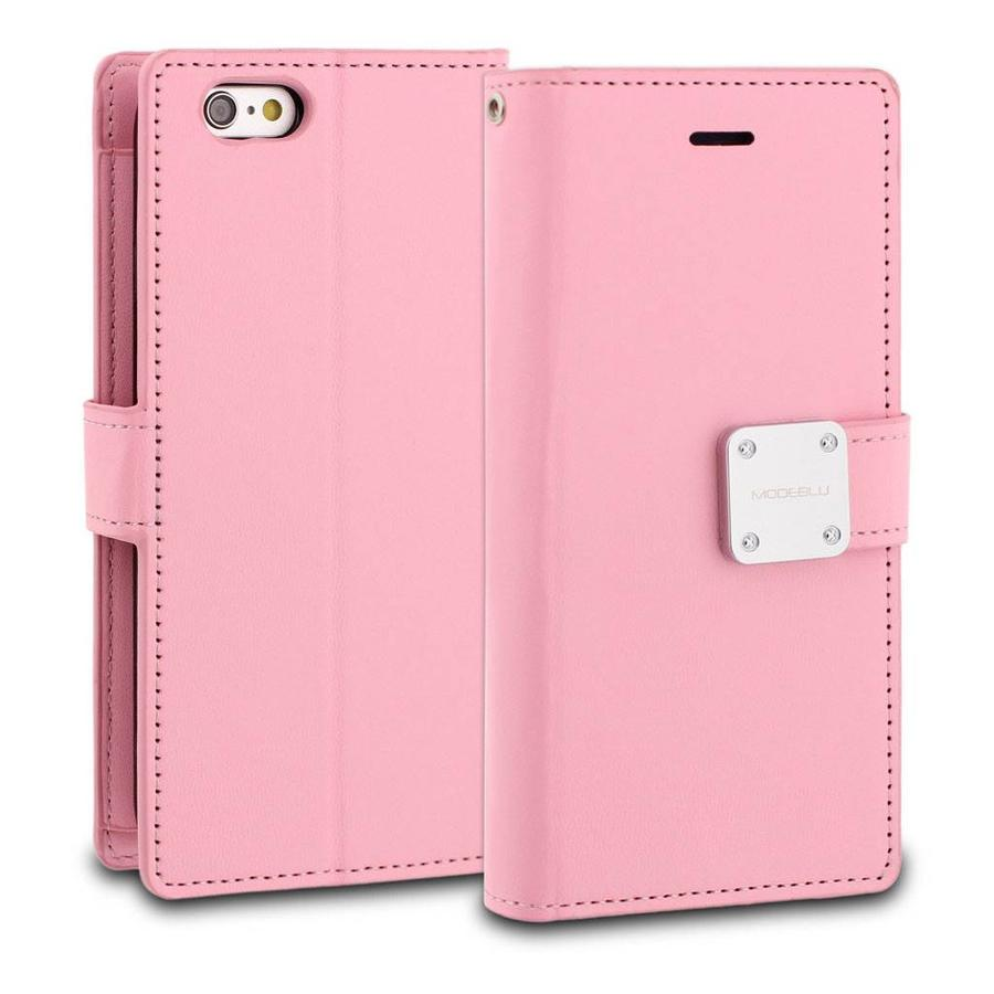 ModeBlu PU Leather Wallet MB Mode Diary Case for iPhone 6/6S