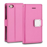 ModeBlu PU Leather Wallet MB Mode Diary Case for iPhone 5/5S/SE