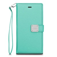 ModeBlu PU Leather Wallet MB Mode Diary Case for Galaxy S9