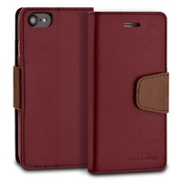 ModeBlu PU Leather Wallet Classic Diary Case for iPhone SE (2020) / 8 / 7