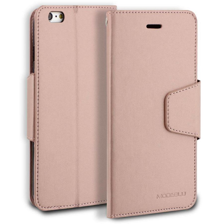 ModeBlu PU Leather Wallet Classic Diary Case for iPhone 6/6S Plus