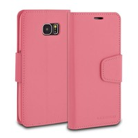 ModeBlu PU Leather Wallet Classic Diary Case for Galaxy S6