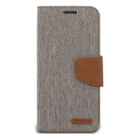 ModeBlu Canvas Wallet Pocket Diary Case for iPhone X / XS