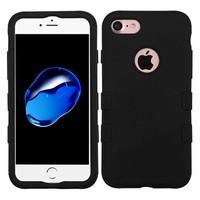 MYBAT TUFF Titanium Hybrid Protector Case [Military-Grade Certified] for iPhone 7