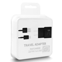 Home Charger Travel Adapter 15W with Type C Single USB-3.0 Cable