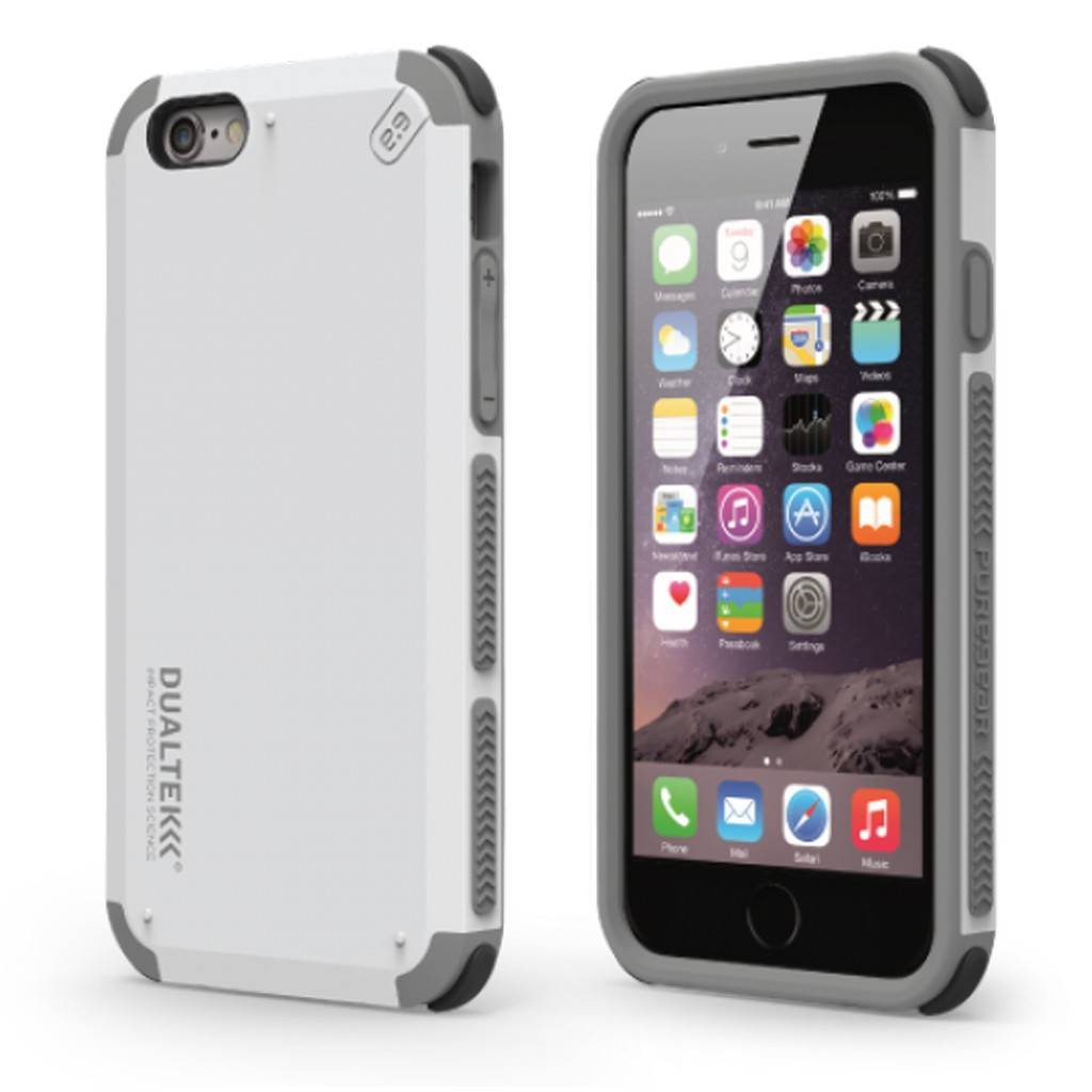 timeless design 97556 d0741 PUREGEAR DUALTEK Extreme Shock Protection Case for iPhone 6/6S Plus