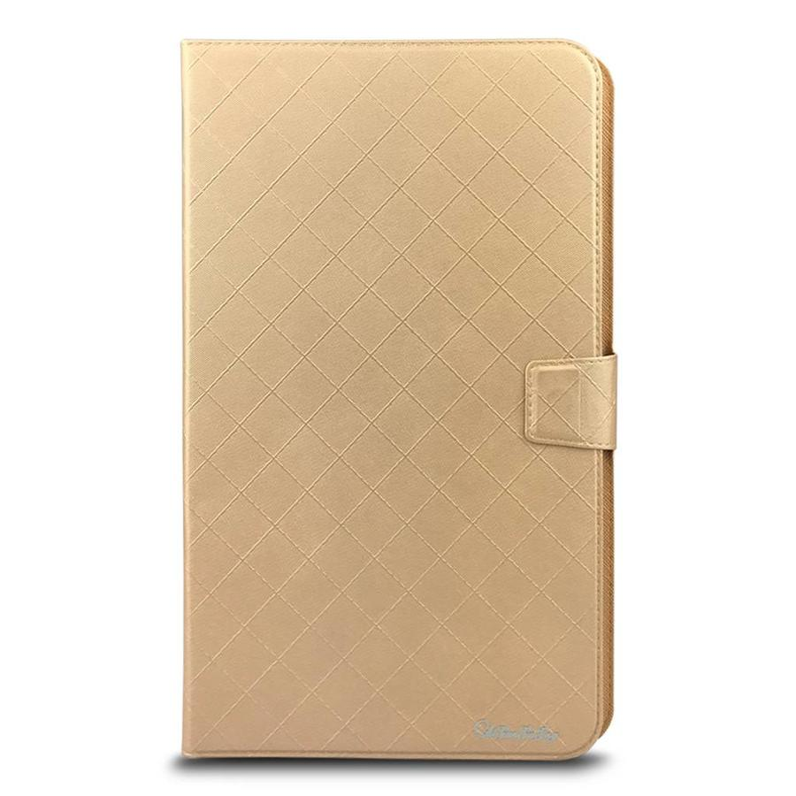 Universal 9 inch Tablet Diamond Pattern PU Leather Wallet Case with 2 Credit Card Slots