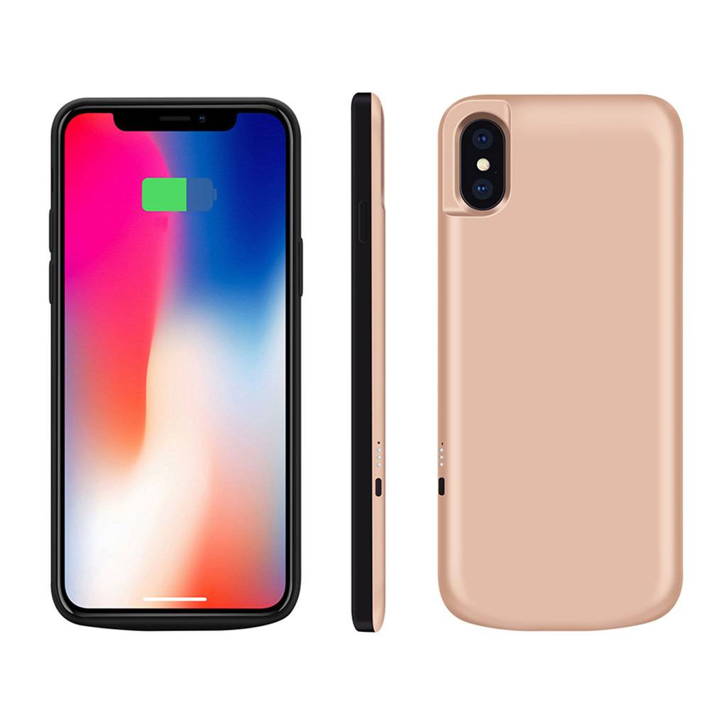 newest d38a5 3d18b JLW Power Battery Case with Kickstand for iPhone X (3,000mAh)