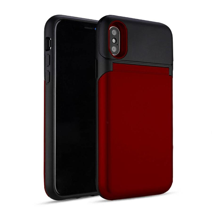 Roar Lovely Mirror Bumper Case with Card Storage for iPhone X / XS