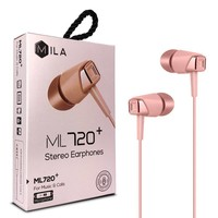 Mila Wired Earphones with Microphone ML720+
