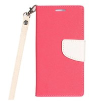 Hybrid PU Leather Flip Cover Case Wallet with Credit Card Slots for Galaxy Galaxy J3 Achieve (2018)