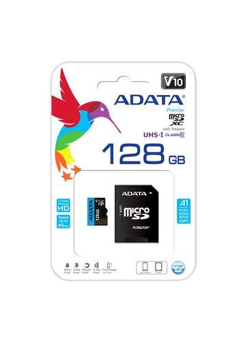 ADATA Premier microSDXC Card with Adapter UHS-I 128 GB Class 10