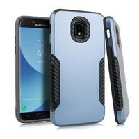 Carbon Slim Metallic Case for Galaxy J3 Achieve (2018)
